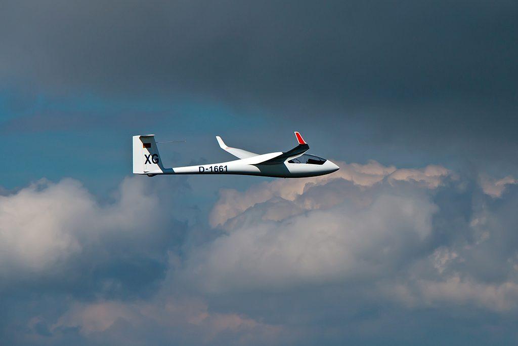 Segelfliegen, Grambeker Heide, Luftaufnahme